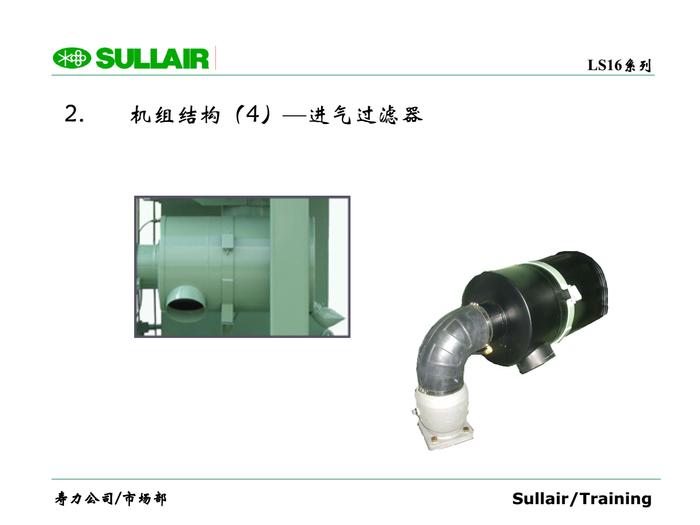2. 機組結構(4) —進氣過濾器